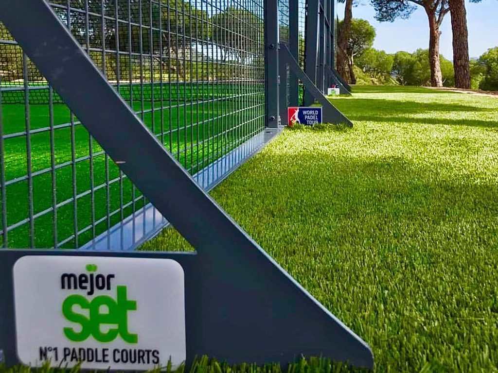 Artificial turf for Padel courts