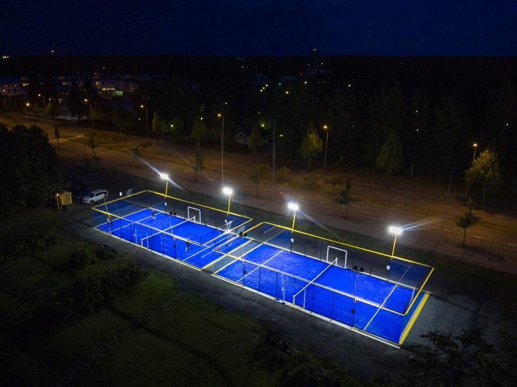 Lighting for Padel courts