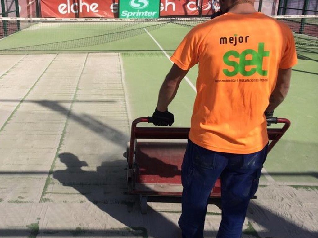 Maintenance for Padel Courts