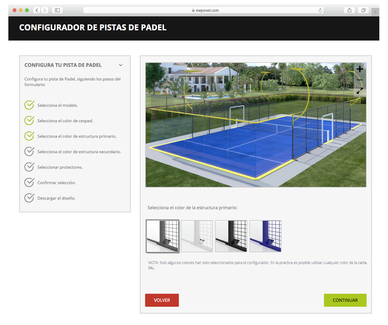 Set Up your Padel court